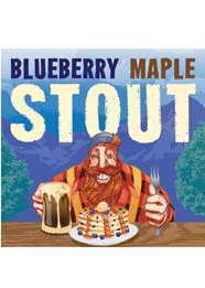 Saugatuck Blueberry Maple Stout