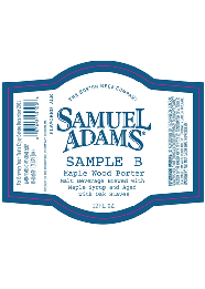 Sam Adams Maple Pecan Porter