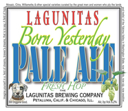 Lagunitas Born Again  Yesterday