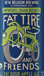 New Belgium Fat Sour Apple Ale
